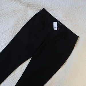 Ann Taylor Size 10 T Black Stretchy Trousers NWT